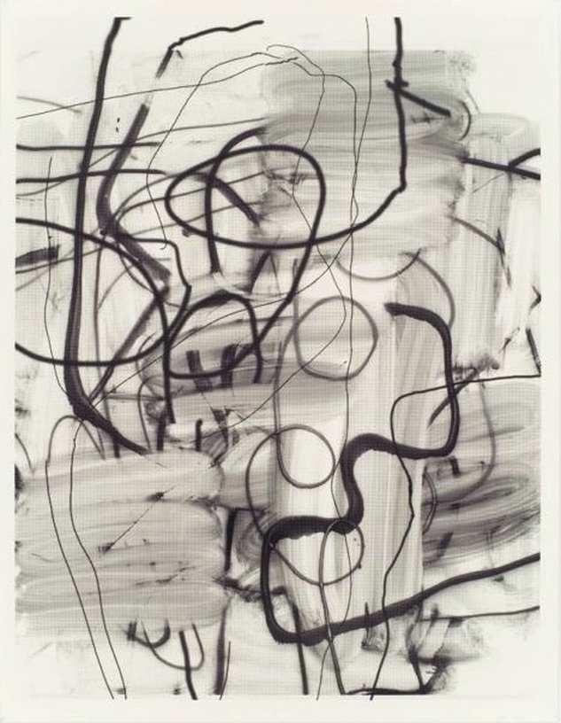 Untitled, 2006, Silkscreen ink on paper, 182,88 x 140,34 cm