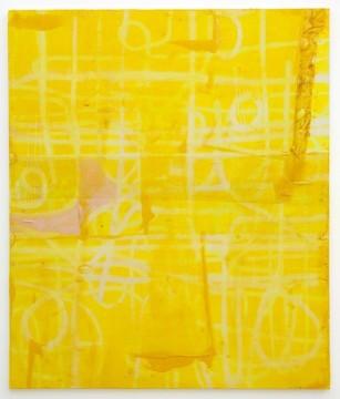 Untitled, 2011, Acrylic, fiberglass and resin on canvas,  200 x 177 cm