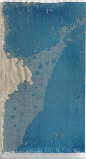Untitled, 2010, Watercolour on canvas, polycarbonate, 200 x 105 cm