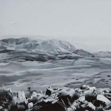 Kiafa, 2013-2014 (series of 14 panels), Οil and acrylic on panel,  20x20 cm (each panel)