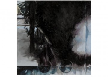 26 km (5), 2010, Oil and acrylic on panel, 20 x 20 cm each