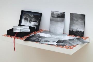 Time machine, 2010, 42 digital prints, box, shelf, digital prints, edition of 1 + 1 AP