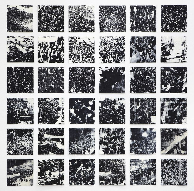 Anniversary, 2010, 36 lithographs, 28 x 28 cm