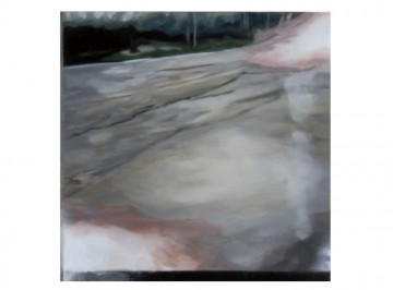 26 km (6), 2010, Oil and acrylic on panel, 20 x 20 cm each