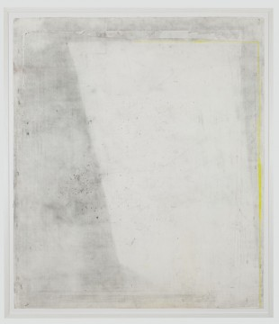 Ahead, 2011-2012, conte crayon, graphite and gouache on paper, 125 x 107 cm