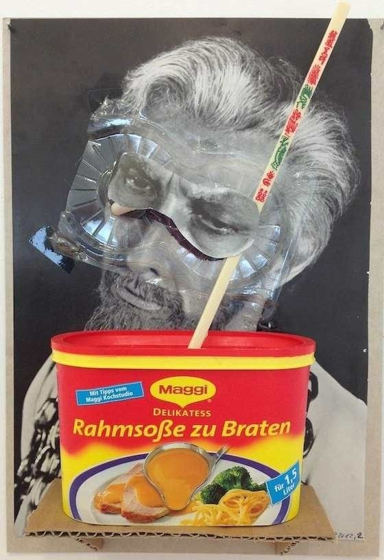 Untitled, 2012, Collage, 29 x 21 cm