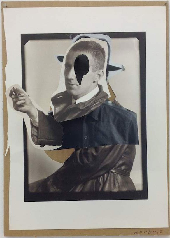 Untitled, 2012, Collage, 30 x 21 cm
