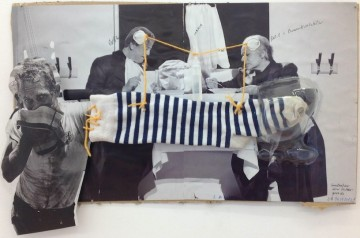 Untitled, 2012, Collage, 33 x 51 cm