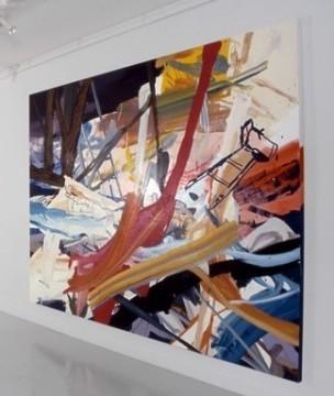Freedom Flashing, 2002, Oil on canvas, 243x336cm