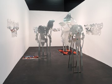 Soft Incalculable Souls, 2018, Installation view, Winner of the NEW POSITIONS Award at Art Cologne 2018
