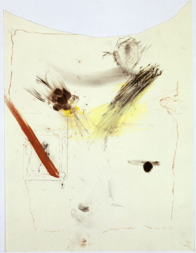 Untitled, 2007, Crayon on paper, 59 x 42 cm