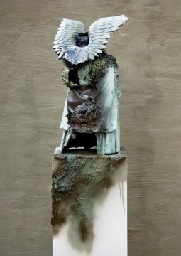 Engelchen, 2008, Mixed media, 71 x 33 x 44 cm
