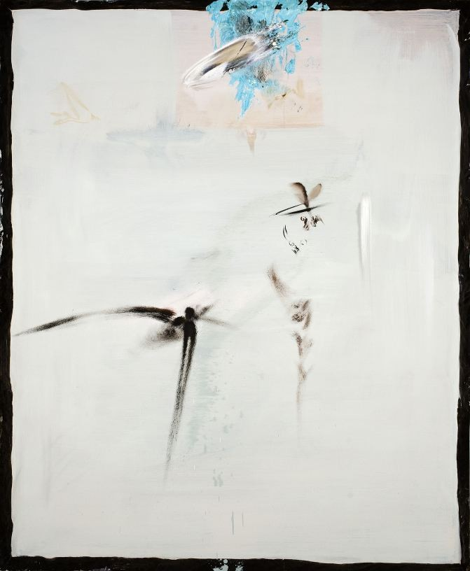 Schwelle, 2008, Oil and lack on wood, 140 x 115 cm