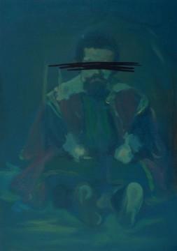 Sebastian de Morra, 2011, oil on board, 60,5 x 46 cm