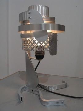 Light, 2004, made of aluminum, 45 x 40 x 40 cm