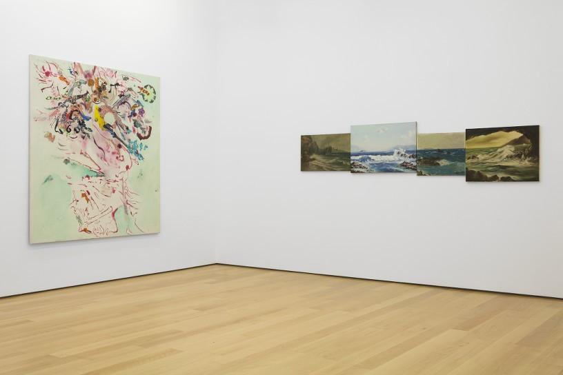 Lila Polenaki, Eftihis Patsourakis, Installation view
