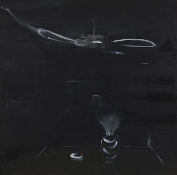 Insomnia II, 2018, Oil on canvas, 150 x 150 cm