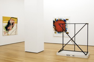 Michel Majerus, Helmut Middendorf, Martin Kippenberger, Installation view