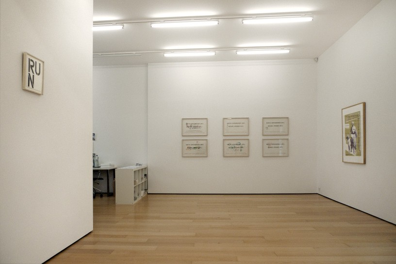 Christopher Wool, Martin Kippenberger, Installation view