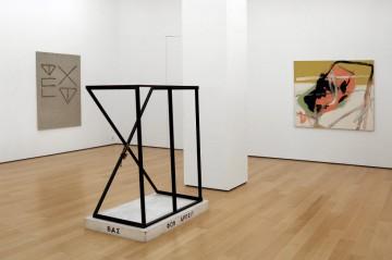 Sergej Jensen, Martin Kippenberger, Michel Majerus, Installation view