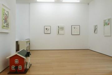 Andreas Slominski, Nick Mauss, Installation view