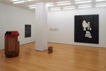 Manfred Pernice, Sergej Jensen, Cosima von Bonin, Andreas Slominski, Installation view