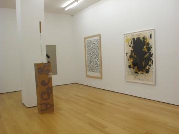 Isa Genzken, Sergej Jensen, Christopher Wool, Installation view
