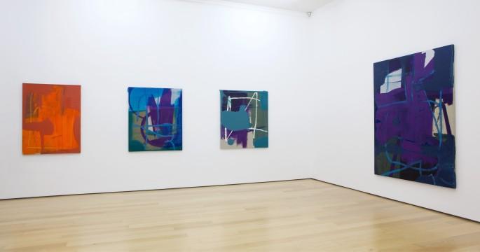 Alex Hubbard, 2014, Installation view