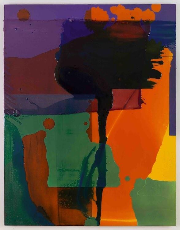 Shes' Got Muscles, 2017, Panel, canvas, acrylic, pigmented urethane, fiberglass, epoxy resin, 140 x 108 x 3.8 cm