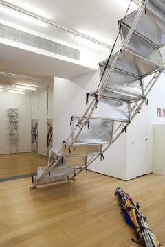 Yorgos Sapountzis, Athens Screens, 2014, Installation view