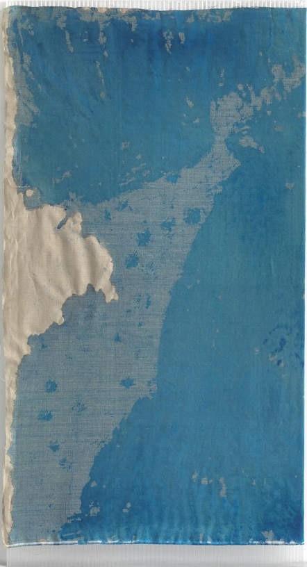 Christina Michalis, Untitled, 2010, Watercolour on canvas, polycarbonate, 200 x 105 cm