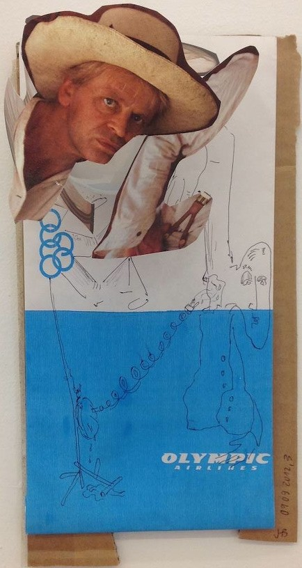 Untitled, 2012 Collage 26 x 15 cm