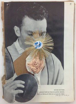 Untitled, 2012 Collage 26 x 19 cm
