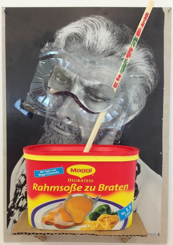 Untitled, 2012 Collage 29 x 21 cm