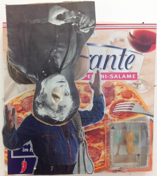 Untitled, 2012 Collage 26 x 27 cm