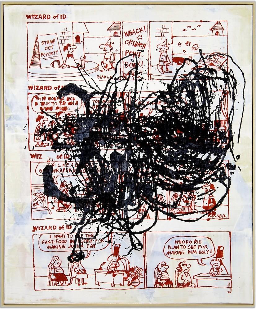 Helmut Middendorf, P.M. (Whack), 2008, Acrylic on canvas, 160 x 130 cm
