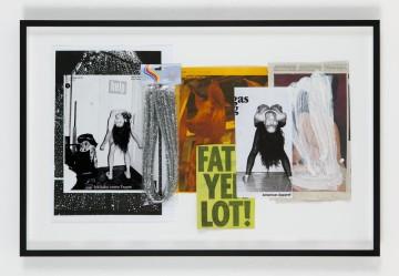 Helmut Middendorf, OT, (LOT), 2014/15, Collage, 39 x 66.5 cm