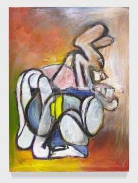 Seamless Min, 2018, Oil on canvas, 213 x 163.5 cm
