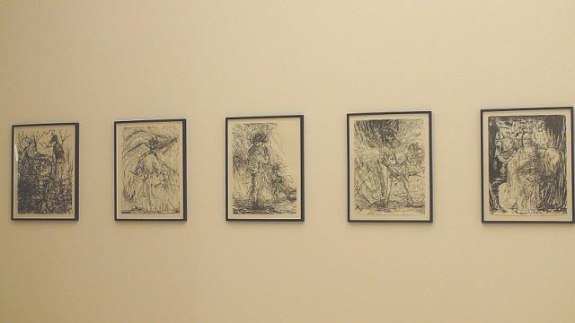 Aidas Bareikis, Installation view