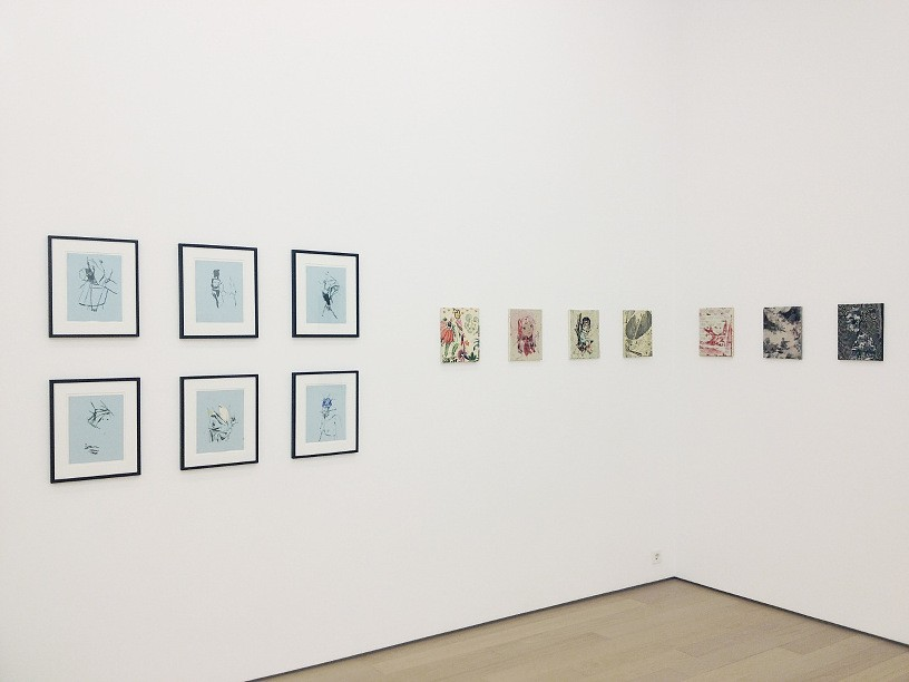 Les Rogers, Lila Polenaki, Installation view