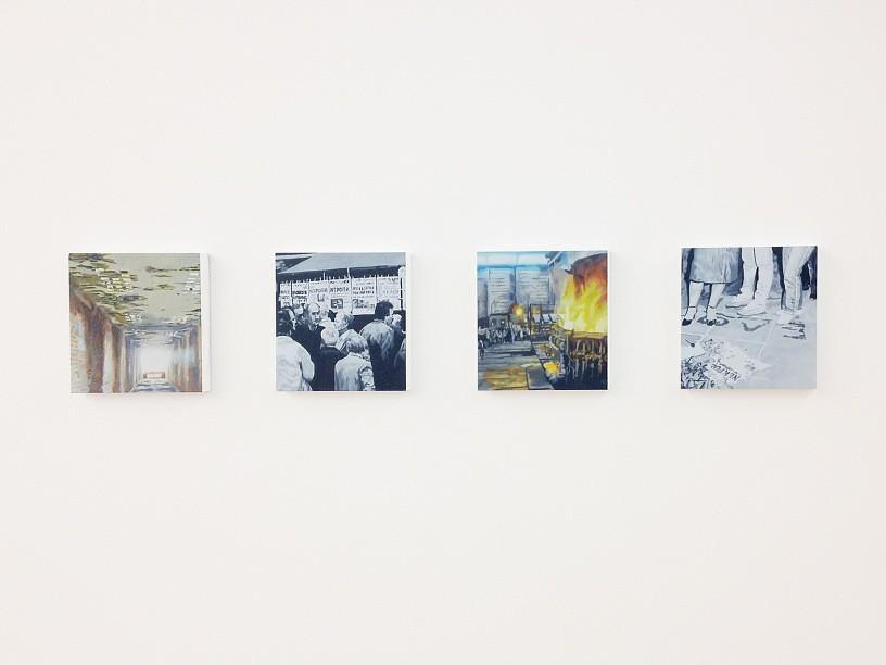 Eirene Efstathiou, Against Oblivion, 2012/13, Installation view