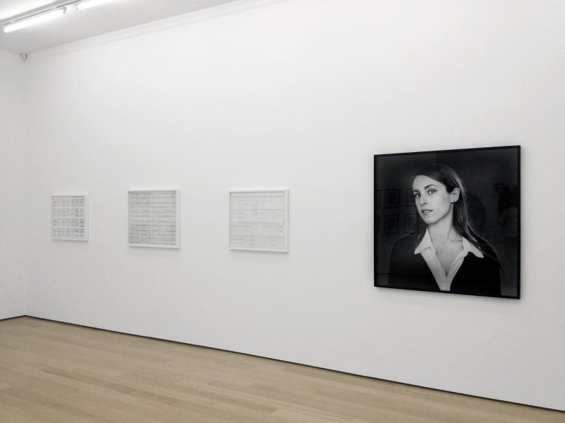 Eftihis Patsourakis, Lina Bertucci, Instalation view