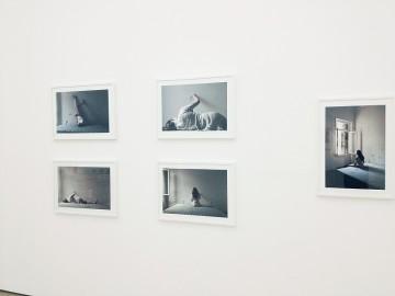 Christina Dimitriadis, End And (1-5), 2012, Installation view