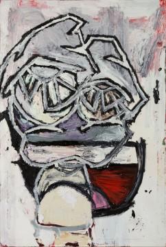 Gerasimos Floratos, Ruff Circuit, 2021, Oil and acrylic on canvas, 183 x 122 cm