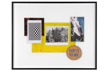 Clean Monday, 2010 Collage, 40 x 54 cm