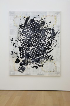 Screen (Grid), 2010 Acrylic on canvas, 200 x 160 cm