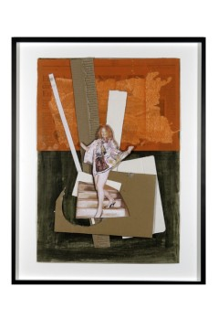 Untitled (Stairs-Westwood), 2010 Collage, 56,5 x 39 cm