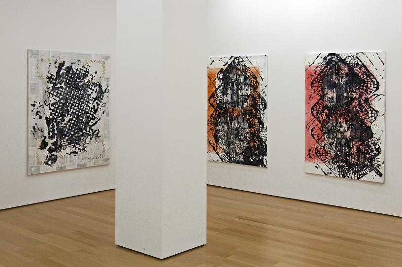 Acrylic on canvas, 200 x 130 cm each