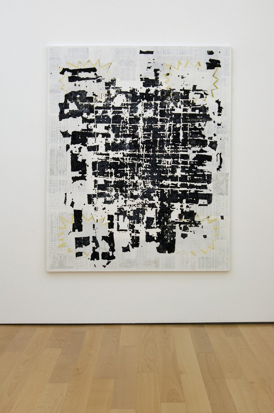 Untitled (Athens seen from the Moon), 2010 Acrylic on canvas, 200 x 160 cm