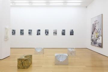 Installation view (from left to right): Lito Kattou, Eirene Efstathiou, Olga Migliaressi-Phoca